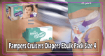 Pampers Cruisers Diapers Ebulk Pack Size 4 Best