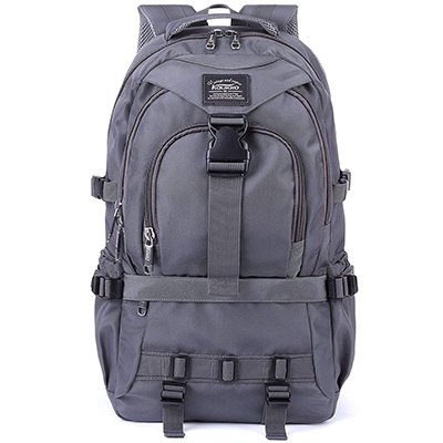 KAUKKO Large Multipurpose Water-Repellent Backpack