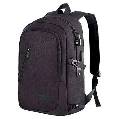 Mancro Anti Theft Business Laptop Backpack