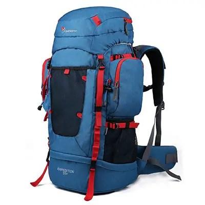 Mountaintop 55L-70L+10L Internal Frame Backpack