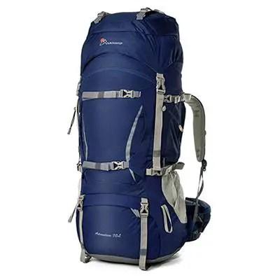 Mountaintop 70L-75L Internal Frame Hiking Backpack