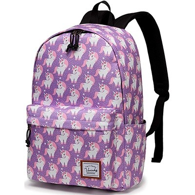 Vaschy Fashion Floral College Student School Backpack