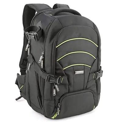 Evecase большая камера DSLR-ноутбук рюкзак для путешествий
