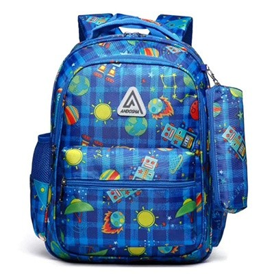 Little Boys Backpacks Set for Kindergarten Kids