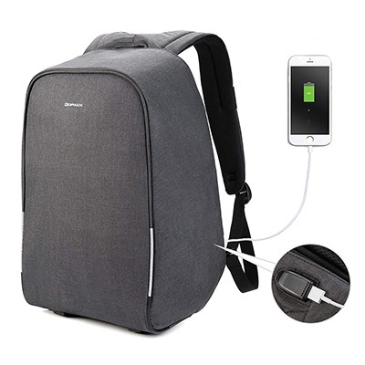 KOPACK Waterproof Anti-Theft Charging Backpack