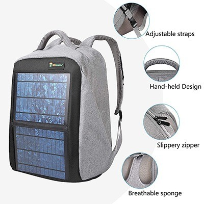 SUNKINGDOM Solar Backpack