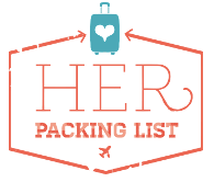 her packing list blog