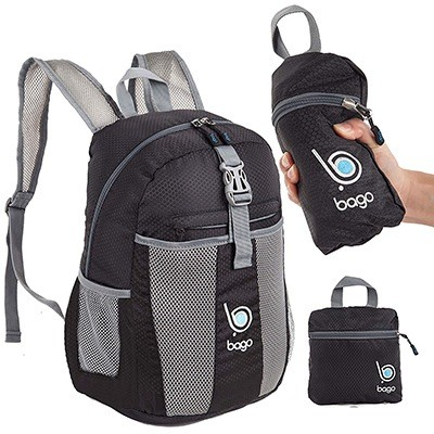 Bago Lightweight Foldable Backpack for Travel and Sport