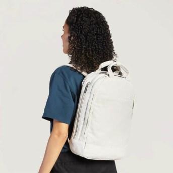 The Slim Backpack On Women