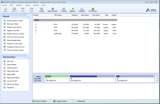 AOMEI Partition Assistant 6.6 Review and Download