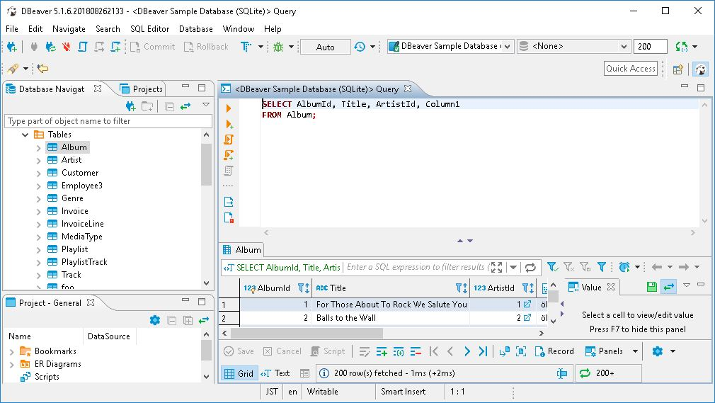 DBeaver 5 1 6 - Free Database Tool You Must Have | The Best Backup