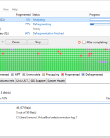 Auslogics Disk Defrag Free 8.0