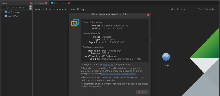 Download and Install VMware Workstation Pro 15 0 on Ubuntu 18 04