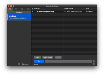 Get Backup Pro – Simple Backup Solution for Mac OS X