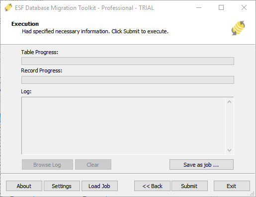 Migrate MySQL Database Using ESF Database Migration Toolkit