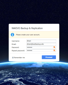 Install NAKIVO Backup & Replication on Ubuntu Linux