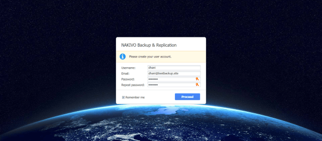 Install NAKIVO Backup & Replication on Ubuntu Linux