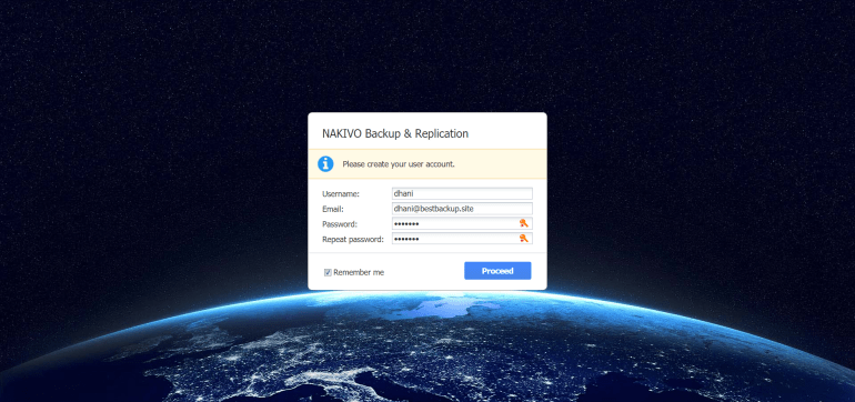 install Nakivo Backup & Replication on Ubuntu