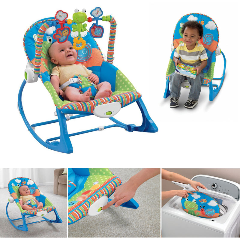 Baby Rocking chair in Blue