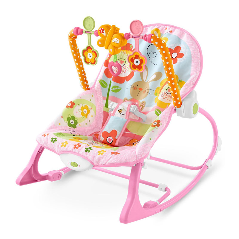 iBaby Infant-to-Toddler Baby Rocker - Pink