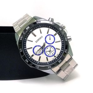 Diniho S807G Steel Belt Wrist Watch for Men