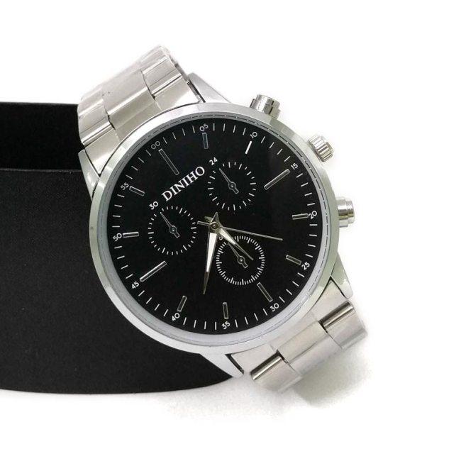 Diniho S9033G Steel Belt Wrist Watch for Men