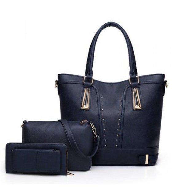 H1065 - Stylish Simple Fashion Handbag Set