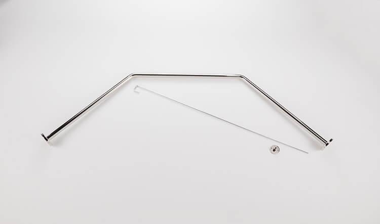 neo angle curtain rod kits bestbath