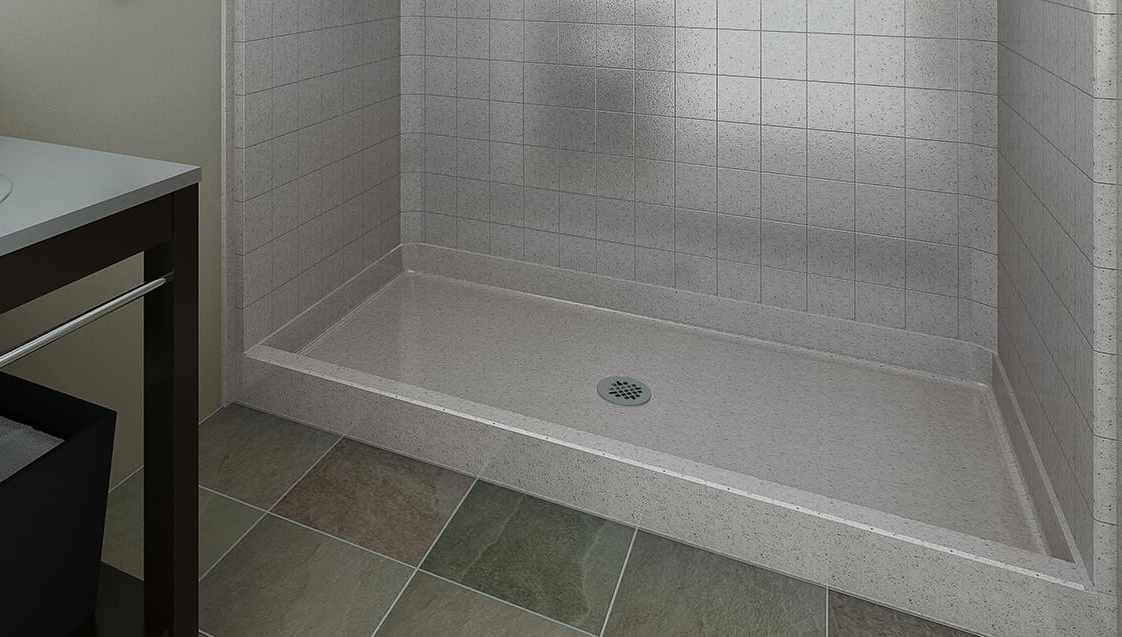 shower pans shower bases barrier