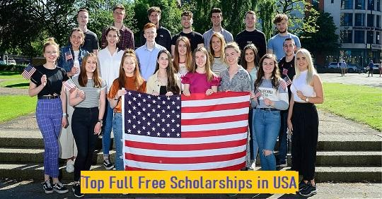 Top 25 Full Free Scholarships in USA For International ...