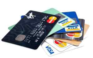credit cards are an easy depositing method