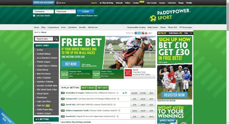 great betting offers at paddy power