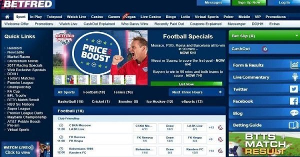 Betfred Review - Best Betting Sites