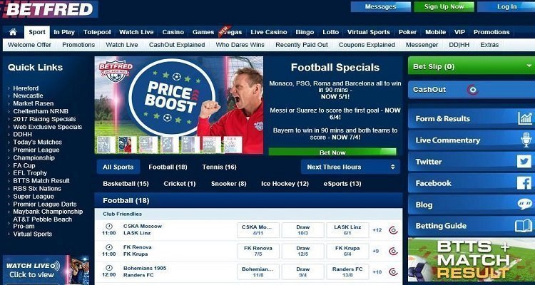 Betfred Review 2