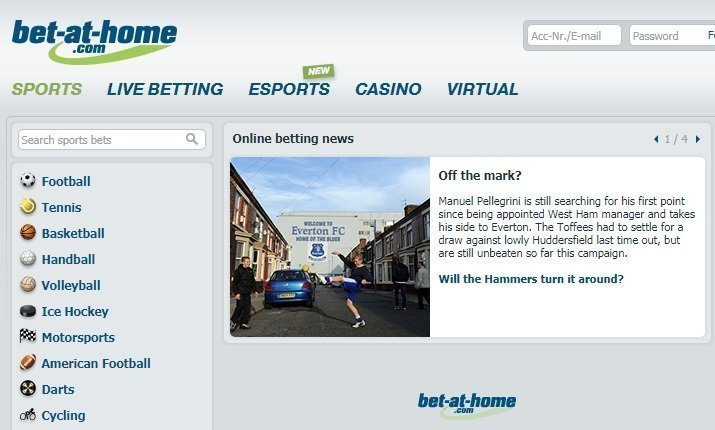 Bet at Home Review 1