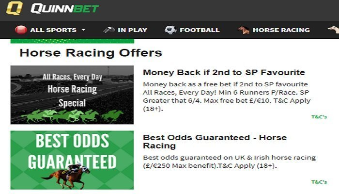 A Week of Special Betting Offers at QuinnBet 1