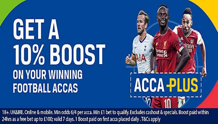 Get Bigger Payouts on Football Accas at Coral 1