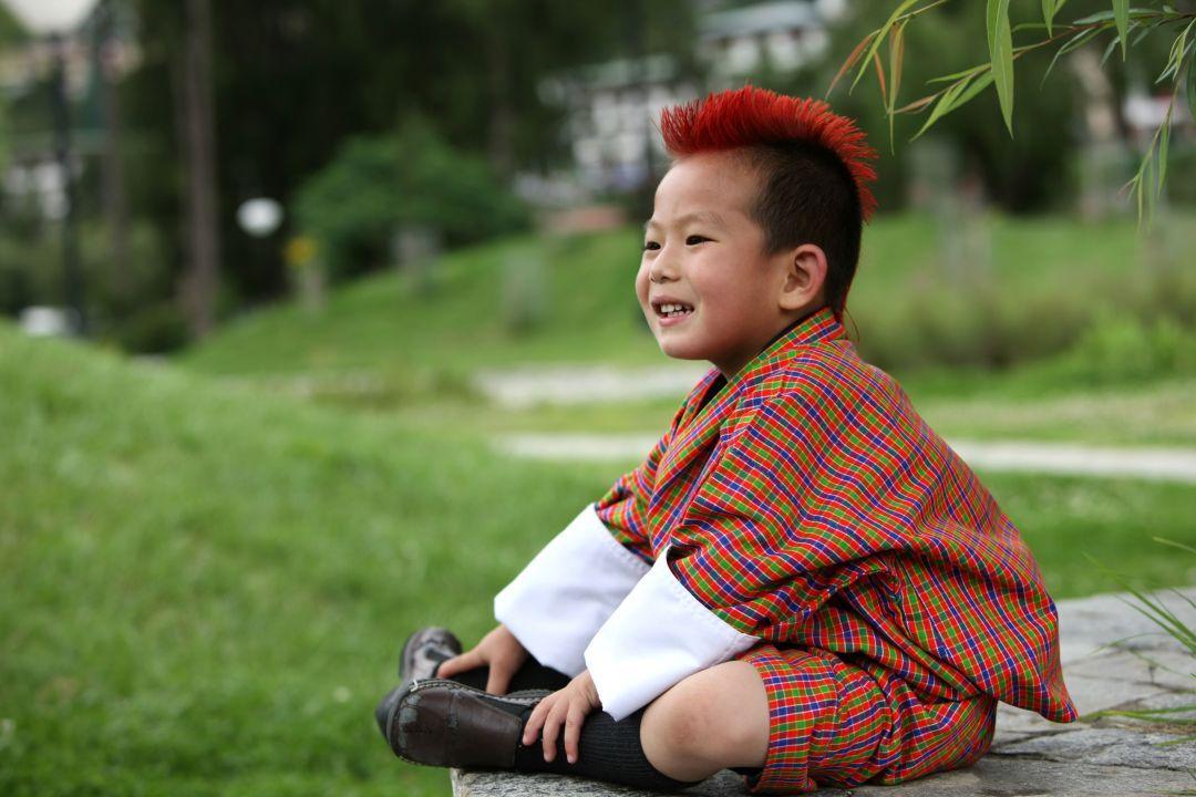 Từ người lớn đến trẻ nhỏ ở Bhutan, nụ cười là thứ bạn thường thấy nhất ở họ.