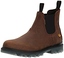 most comfortable slip on work boots