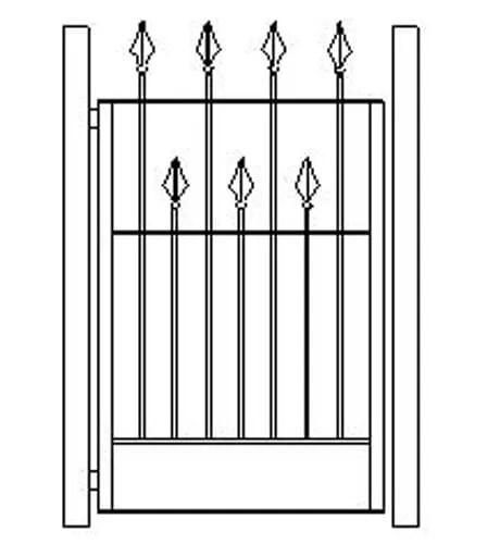 pedestrian gates icgg16 1500
