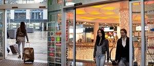 retail store automatic doors