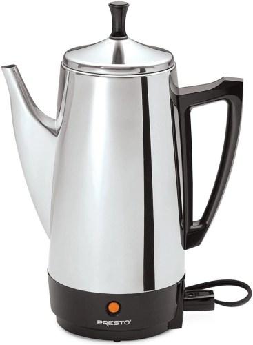 Preso Plug-in Coffee Maker for skoolie coffee drinkers