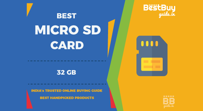 Best 32GB MicroSD Cards for Mobile Phones, Tablets, Action Cameras in India | Price in India October 2017