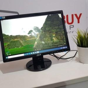 "Asus Widescreen 19"" Led Slim speaker VGA & DVI-D Option Available"