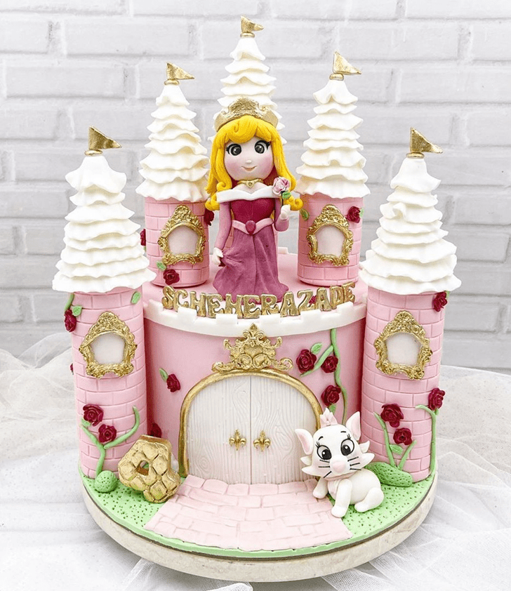 Alluring Sleeping Beauty Cake