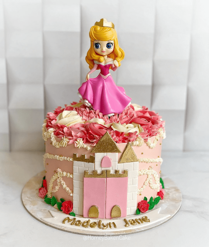 Excellent Sleeping Beauty Cake