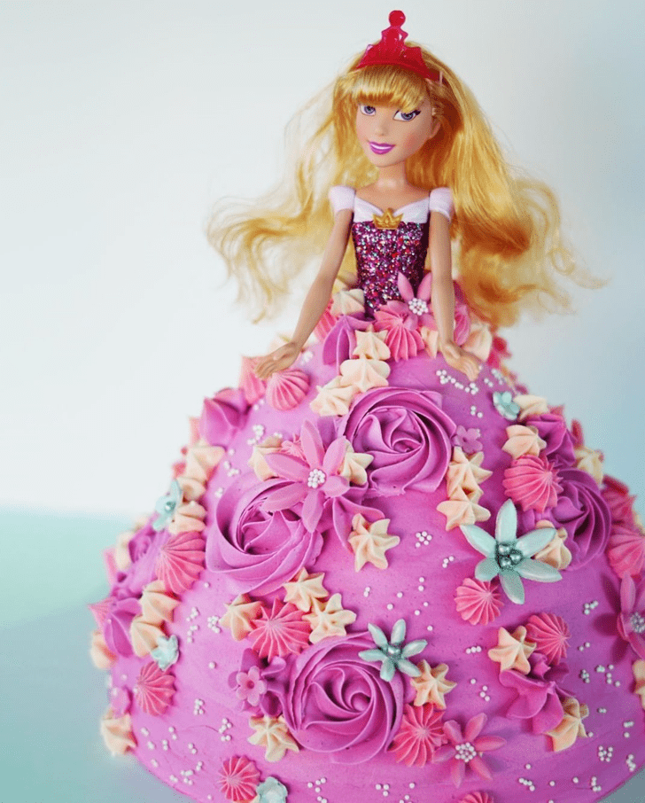 Ideal Sleeping Beauty Cake