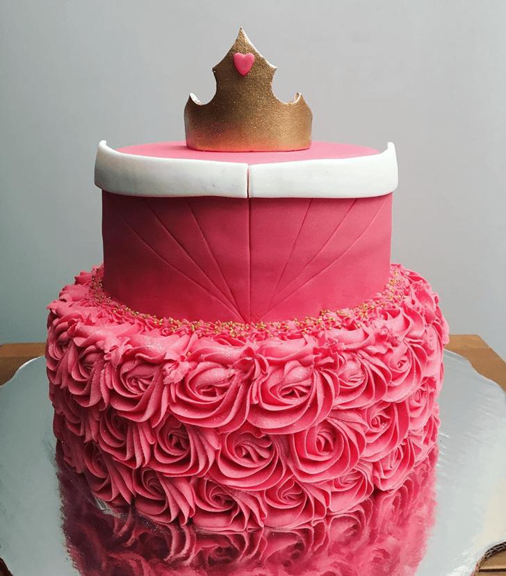 Magnetic Sleeping Beauty Cake