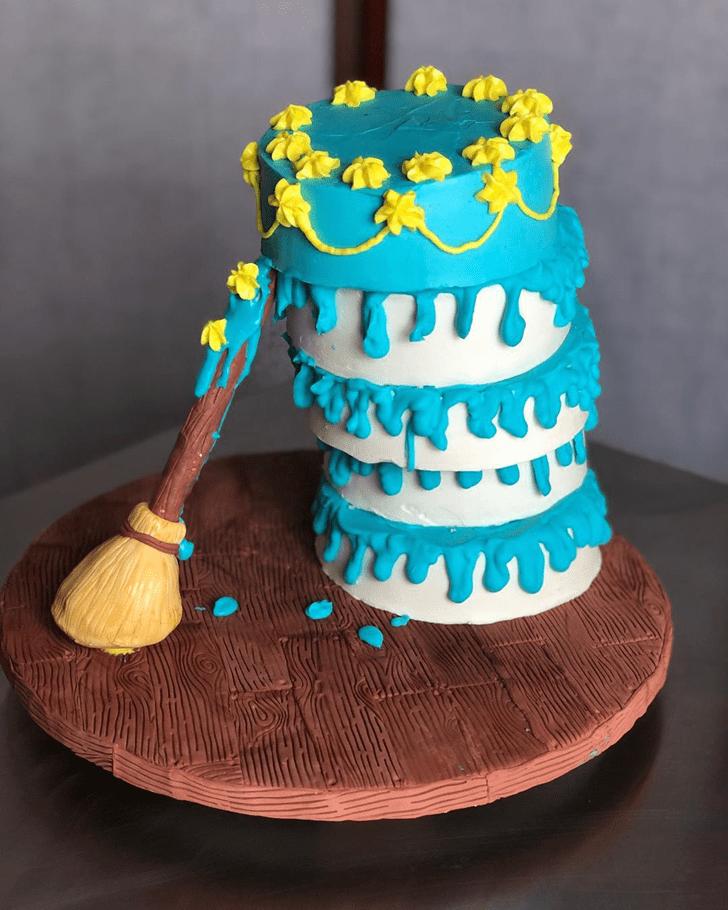 Stunning Sleeping Beauty Cake