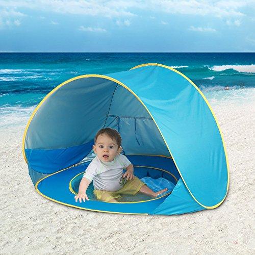 Deyamy Beach Tent Sun Shelter, Pop Up